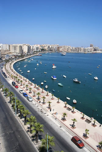The Sliema Seafront - 50 Metres from The Windsor Hotel