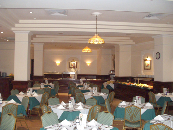 The Corner Restaurant provides hotel patrons with an excellent sampling of Mediterranean cuisine