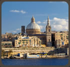Visit the many monuments, churches and museums in Valletta